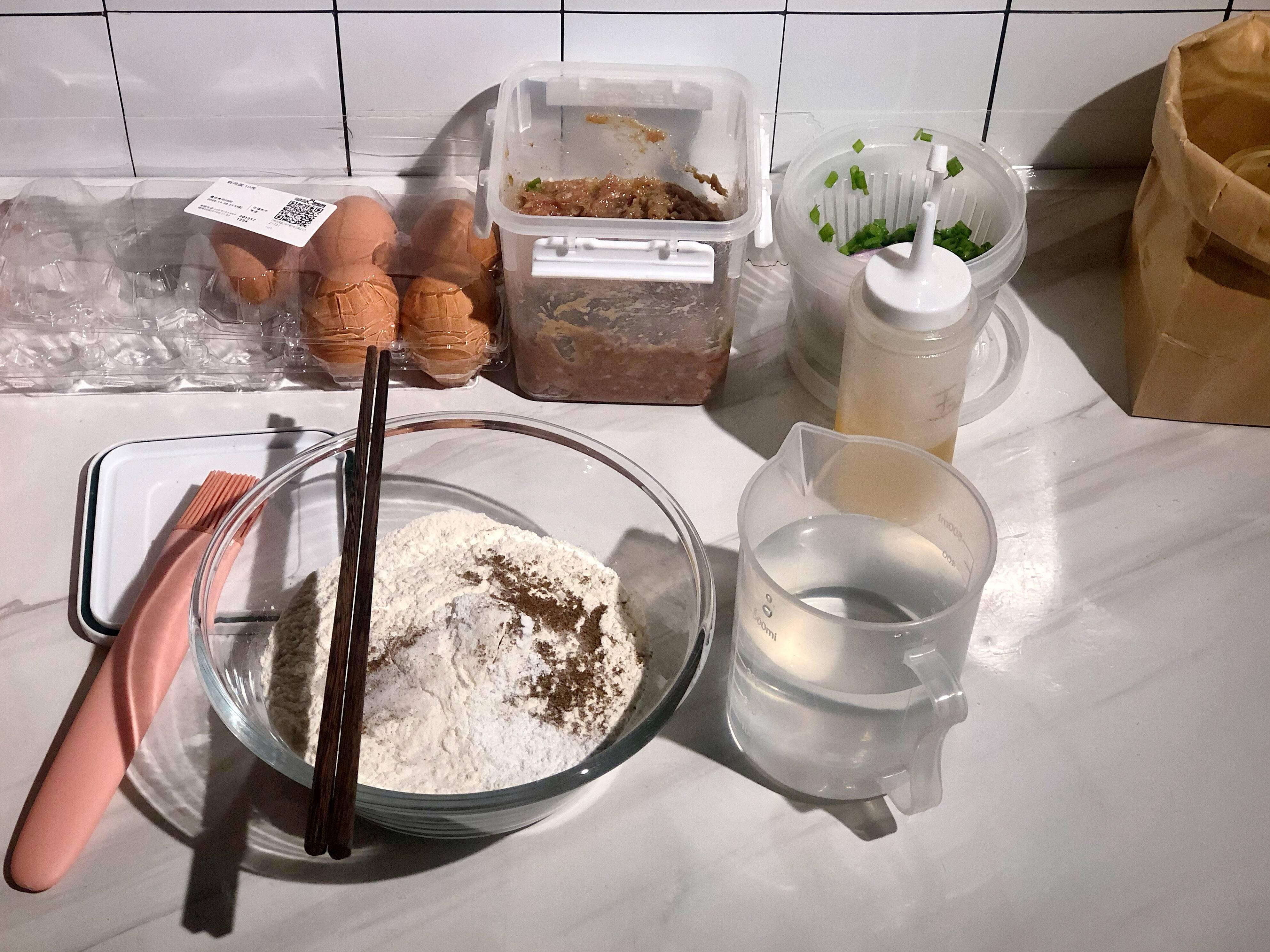 快手早餐-鸡蛋汉堡的做法 步骤1