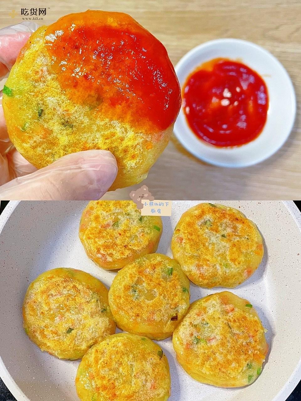 懒人早餐饼 👍营养健康 大人小孩都爱吃的做法 步骤6