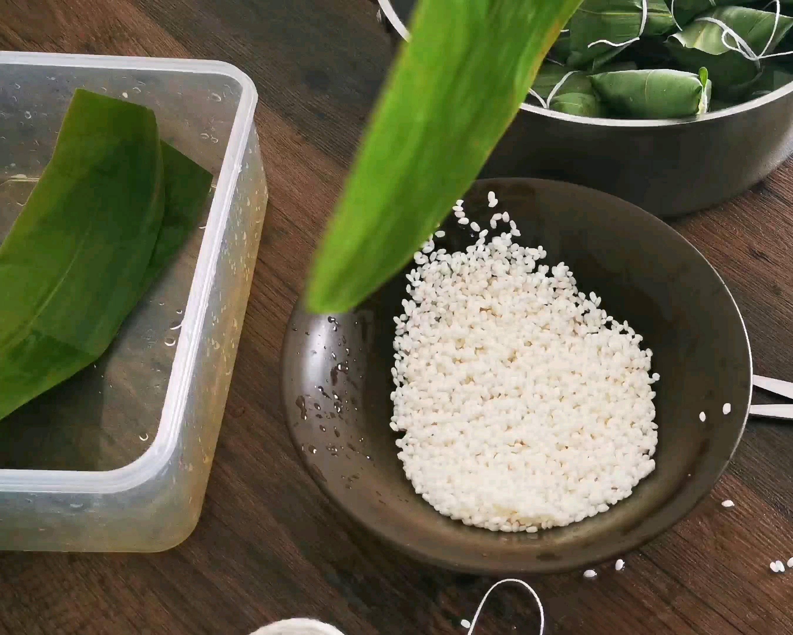 教你包粽子的做法 步骤1