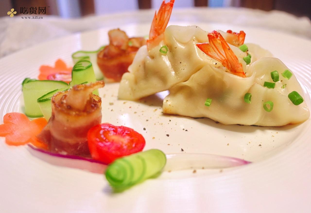 鲜虾锅贴的做法 步骤9