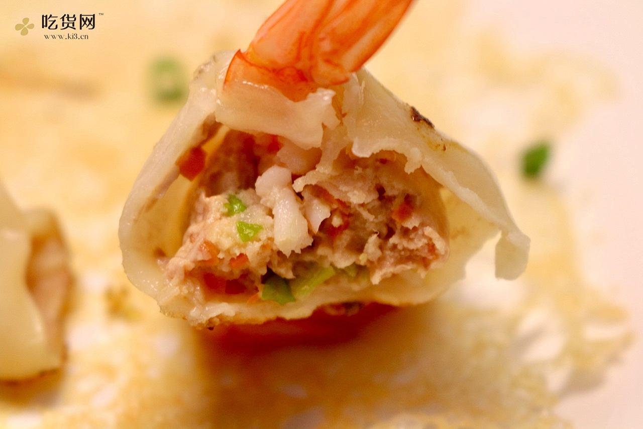 鲜虾锅贴的做法 步骤10