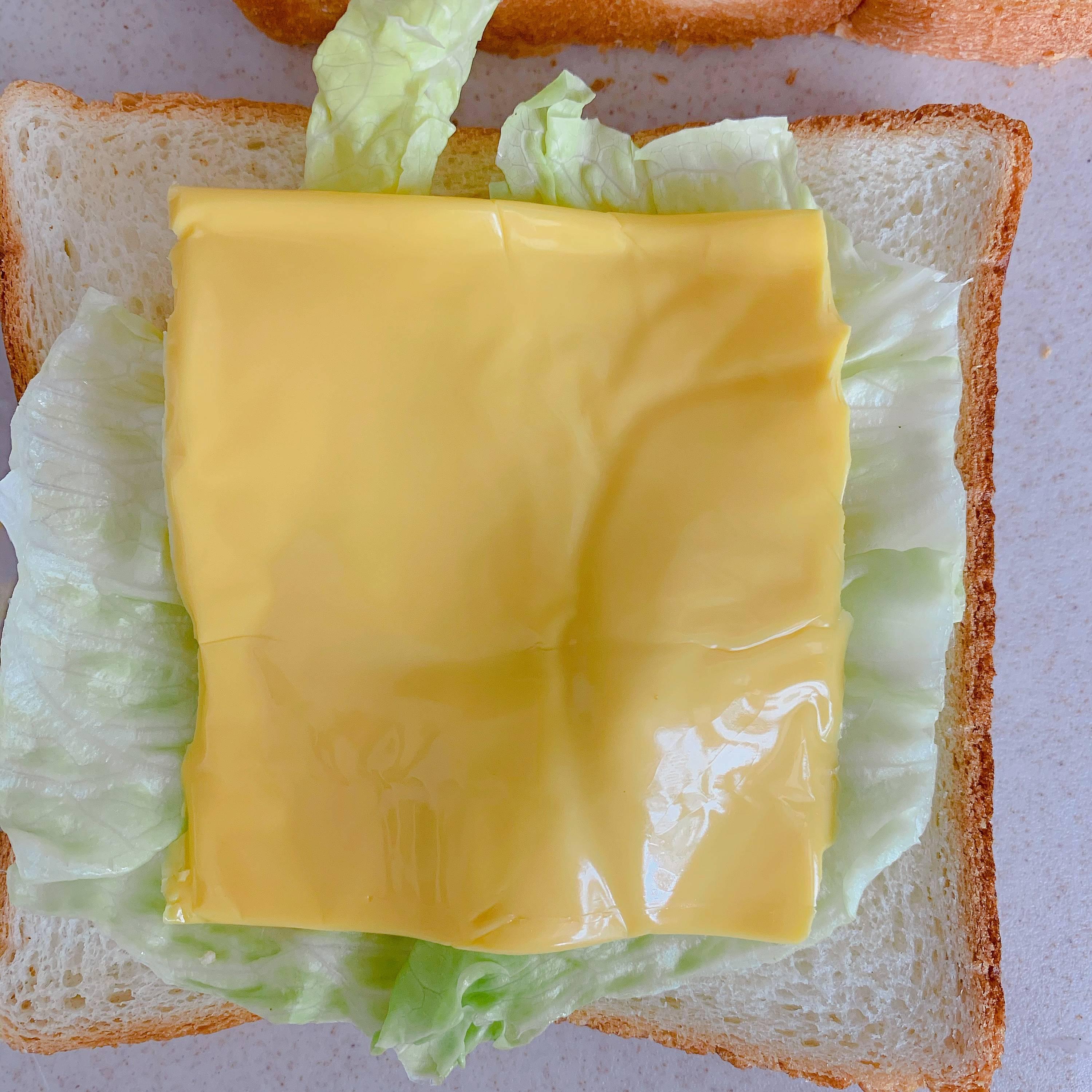超简单快手早餐三明治的做法 步骤7