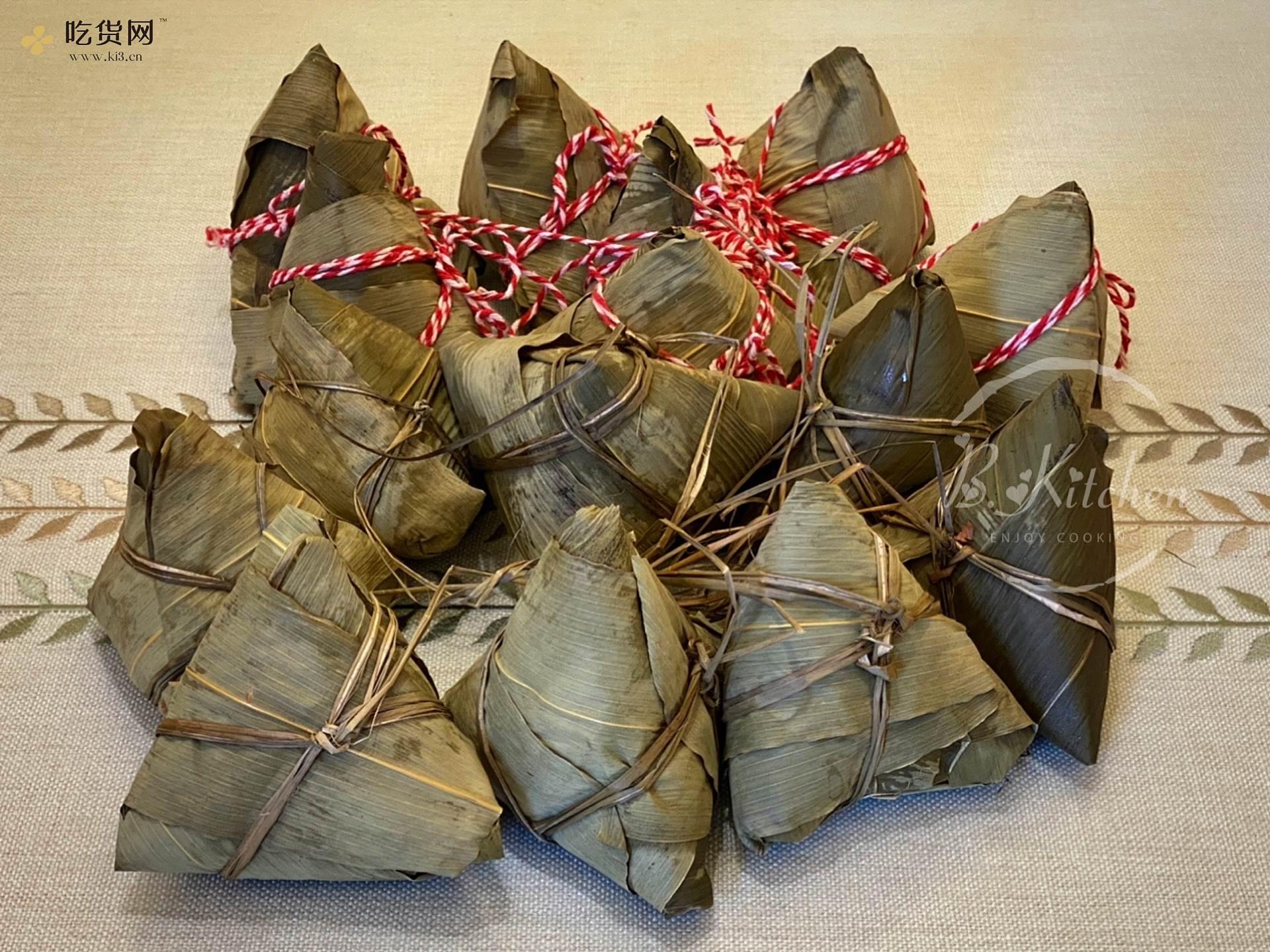 广东咸肉粽子的做法 步骤10