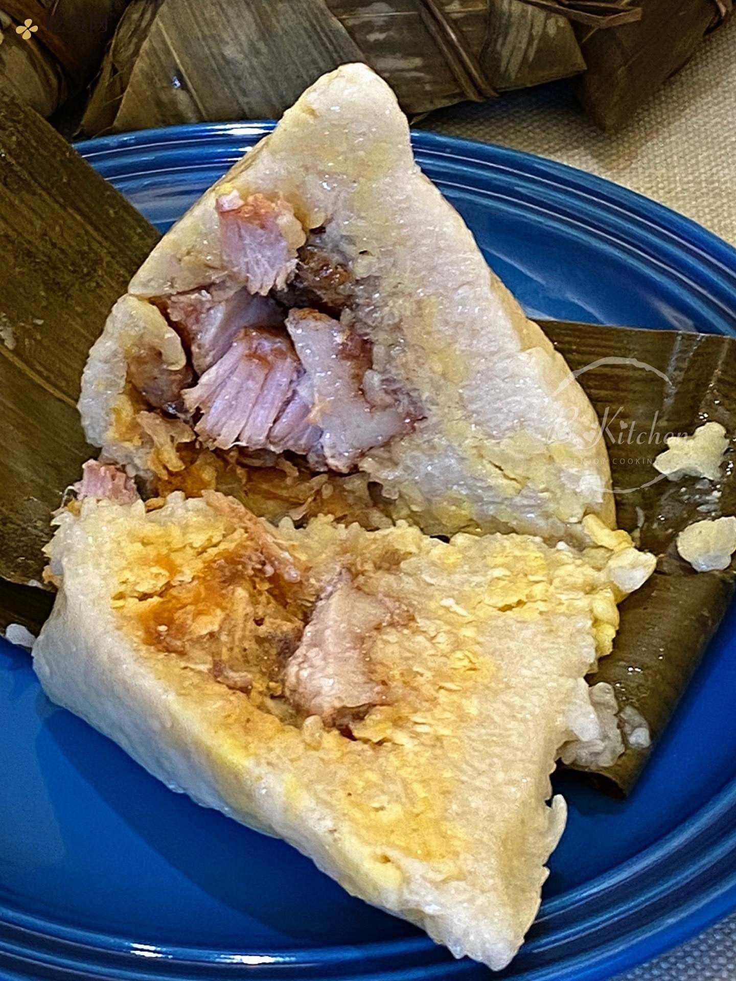广东咸肉粽子的做法 步骤12