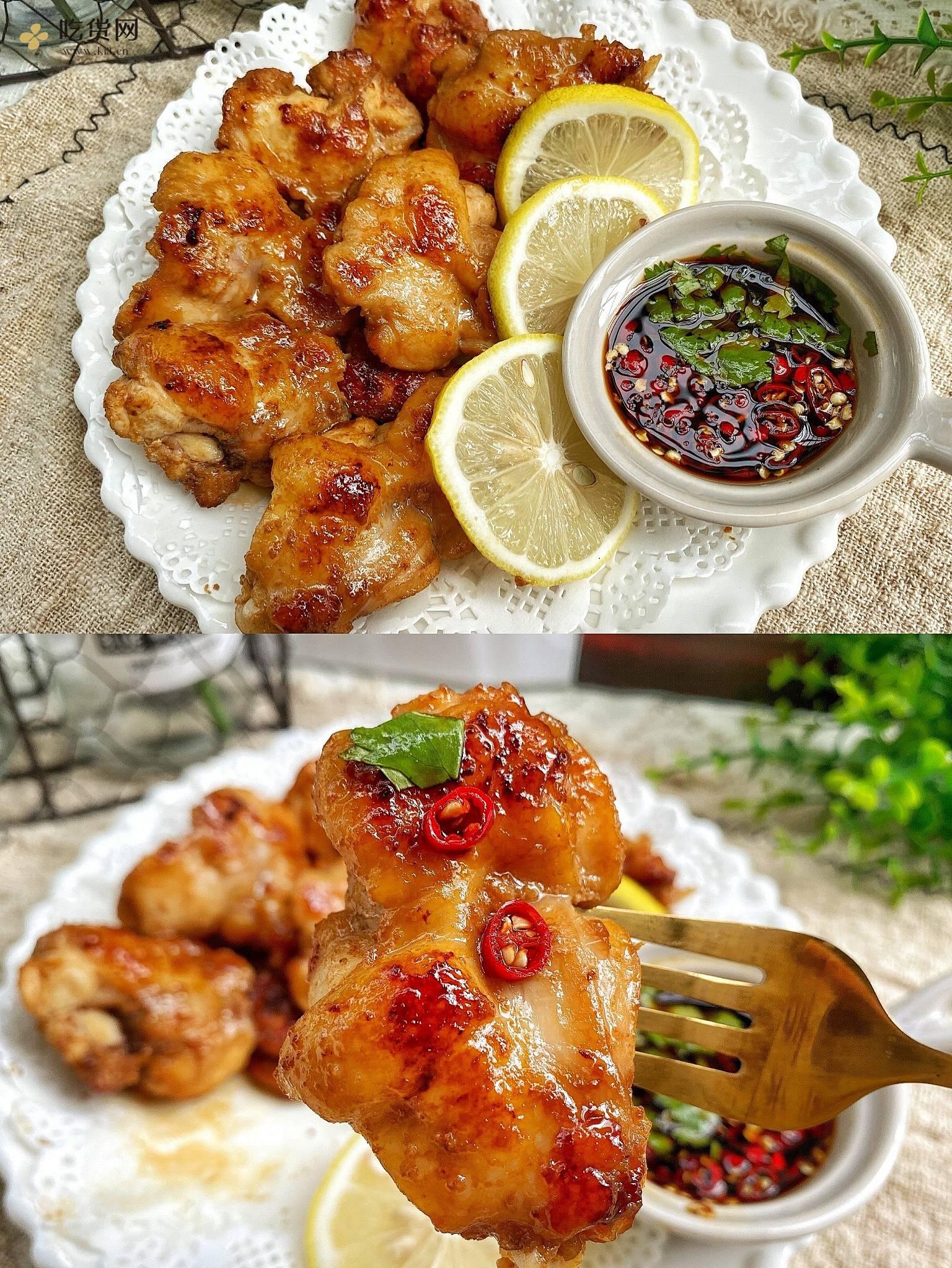 好吃不胖🔥低卡无糖‼️秘制蜂蜜柠檬鸡的做法 步骤3