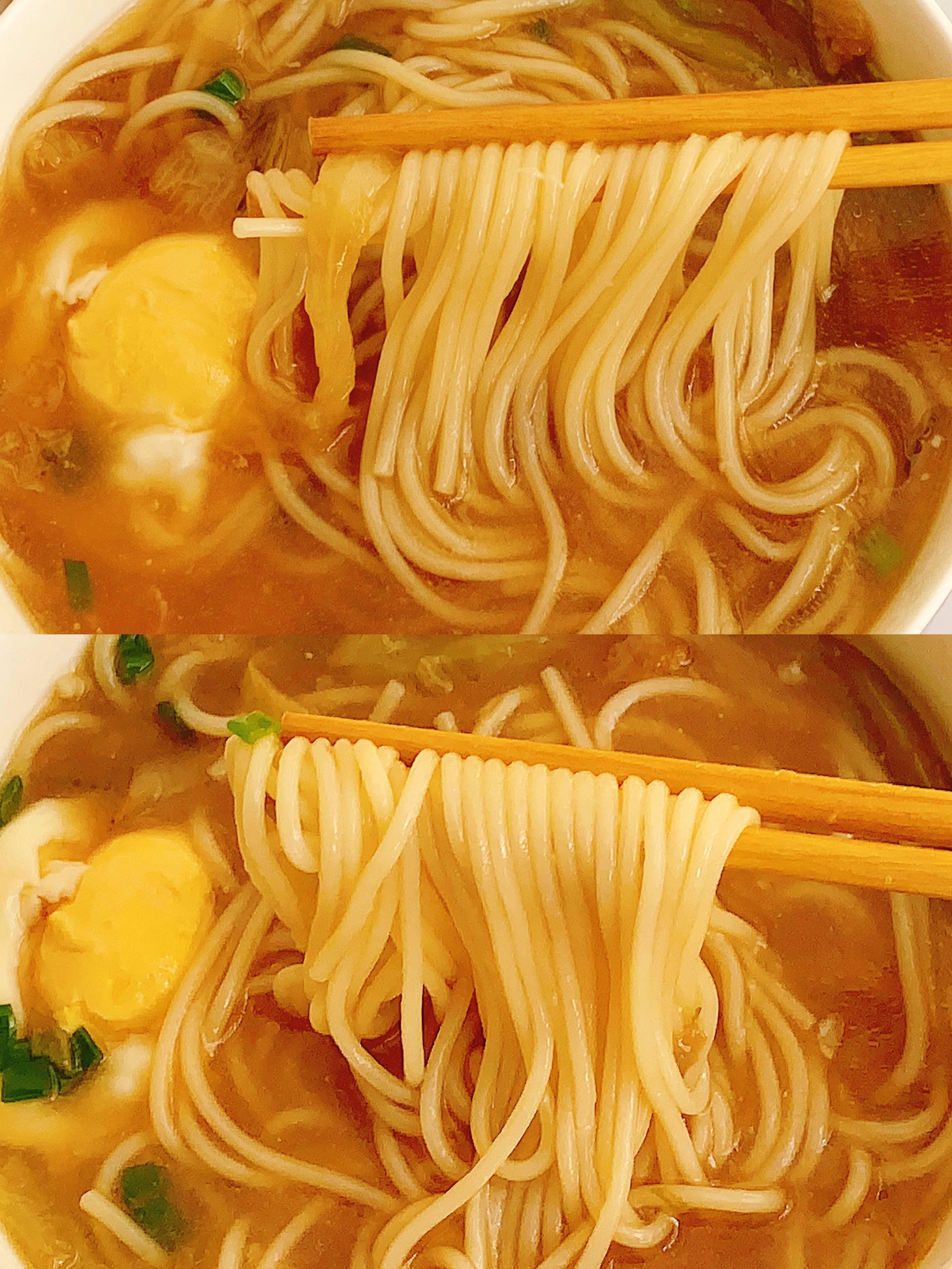 五分钟早餐面~汤汁鲜美好吃的做法 步骤11