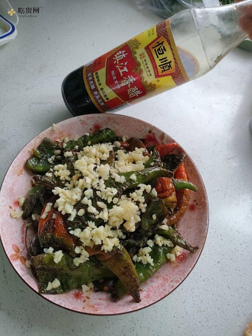 好吃的虎皮辣椒的做法 步骤6